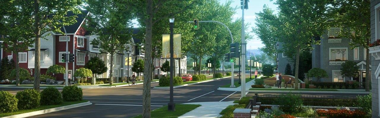 Mission Waterfront Streetscape