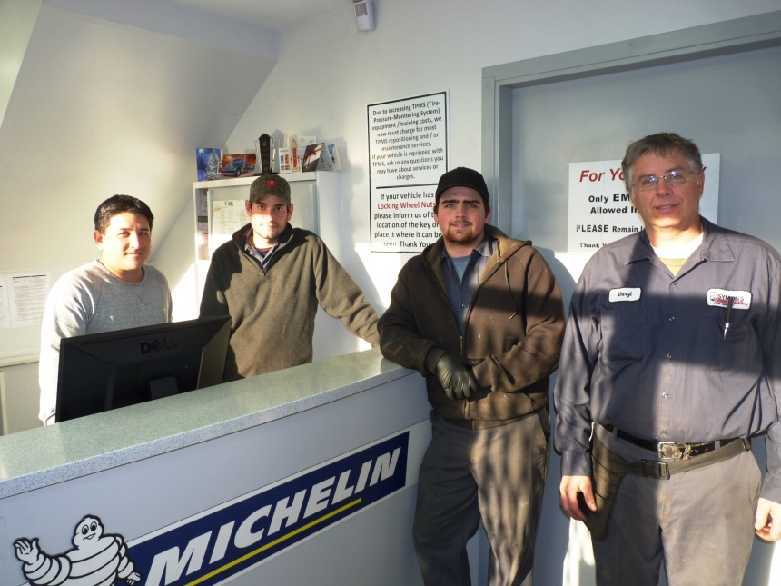 Staff at Symons Tire