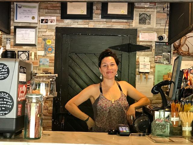 Chiara - always smiling and working hard!